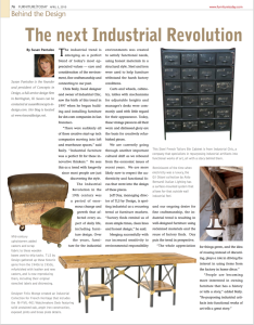Behind the Design Furniture Today Industrial Trend Author Susan Pantaleo Bower