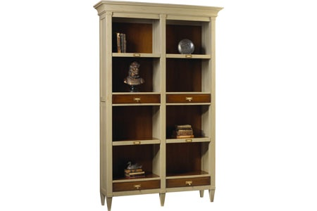 db9839429bfbcdedb5d4cba259eed6e6 french heritage Champlain double bookcase