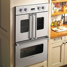 Best In Show Viking French Door Oven for universal accessibility and easier reach.