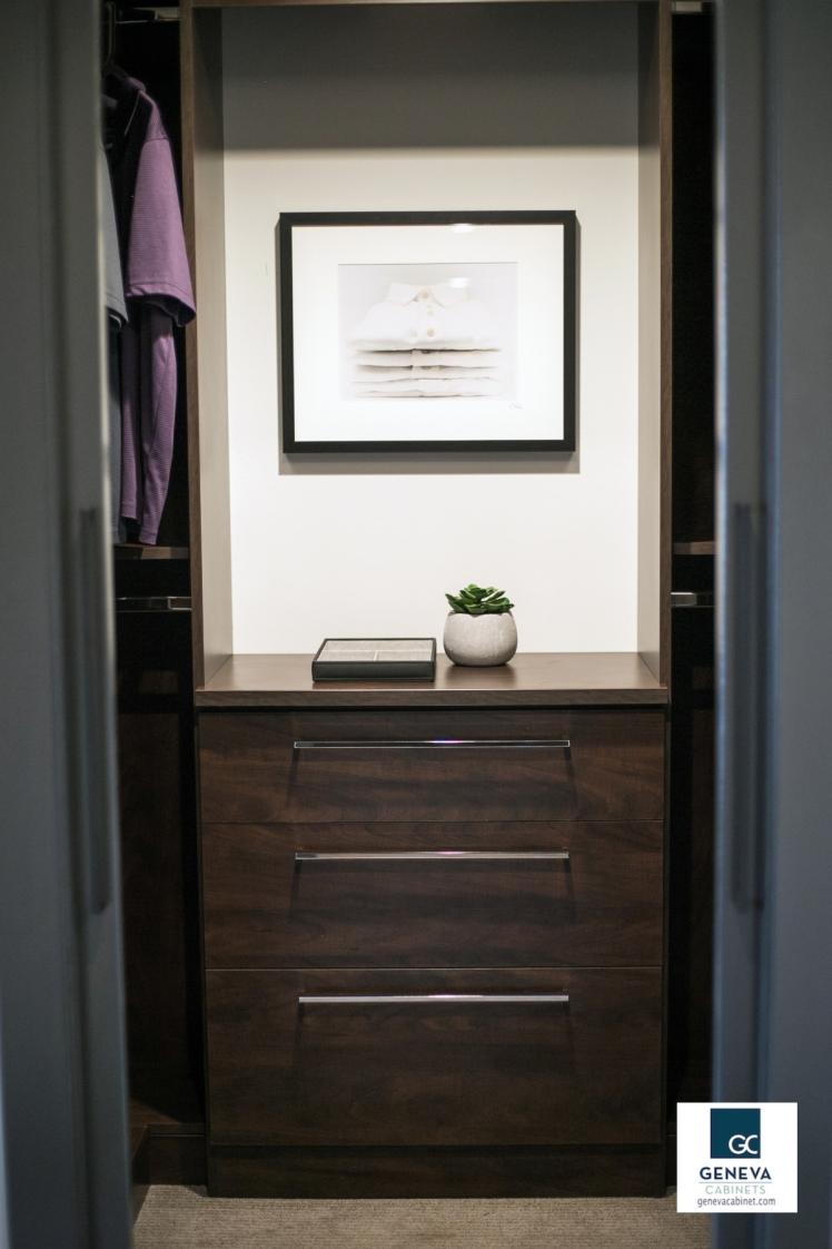 Geneva Cabinet Company built in closet dresser